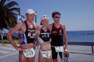 Il podio del 2003